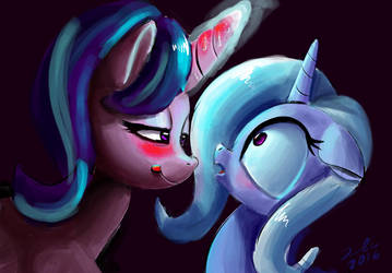Trixie And Starlight Glimmer  shipping by xbi