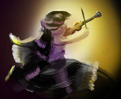 Octavia And Violin warm music by xbi