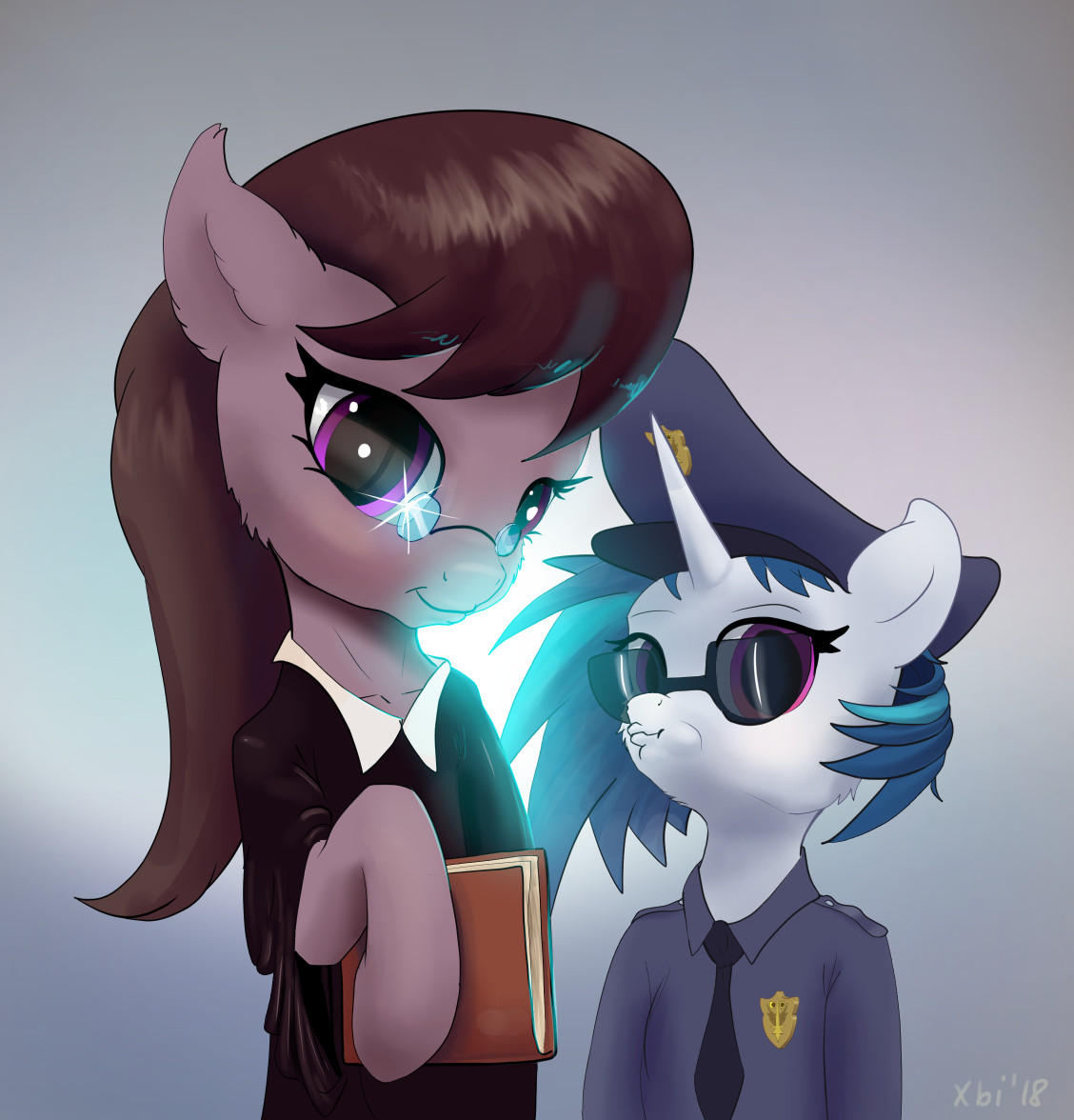 Octavia and Vinyl - Law and Order by xbi