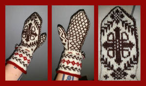 Dovremittens - original fair-isle by KnitLizzy