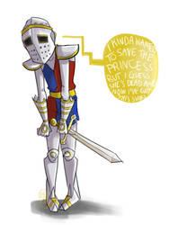 The Knight by rainbowwndw