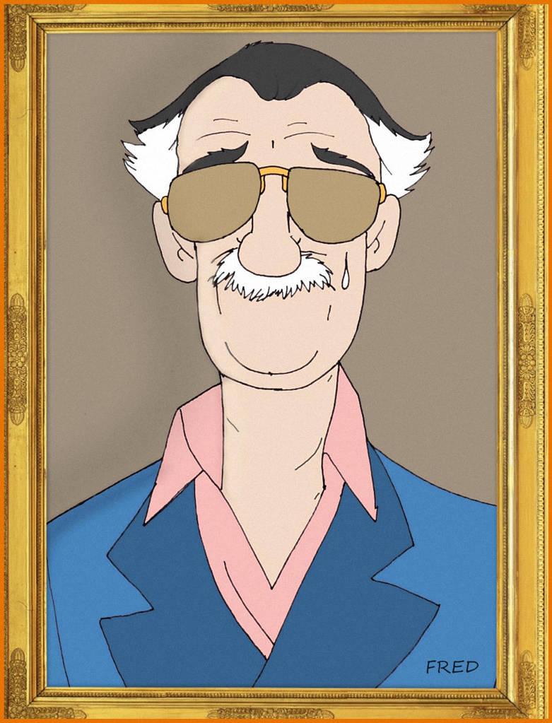 Stan Lee... by fredvegerano