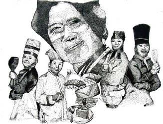 Iron Chefs HUZZAH by datura-flowers