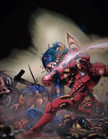 Civil War By Ed McGuiness. Colours by CB. by CB-ComicArt