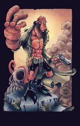 Hellboy by CB-ComicArt