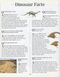 EDN* B1: Dinosaur Facts (Part 1) by CrashAndSpyroFan