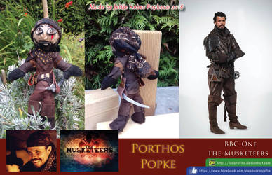 Porthos Popke collage by LadyRafira