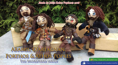 The Musketeers Popkes Photo A by LadyRafira
