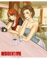 RESIDENT EVIL VALENTINE REDFIELD BAR by FiammahGrace