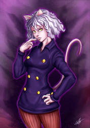 Neferpitou Fan Art :) by Strauss95