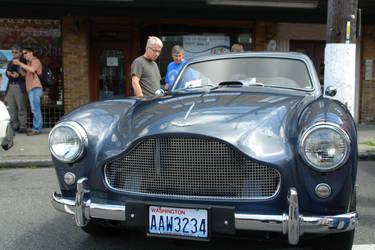 Classic Aston Martin by Drunken-Sanji