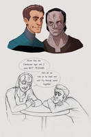 Garak and Bashir by we-were-in-love