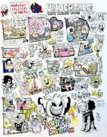 Undertale Comics: True Pacifist Route by Josh-S26