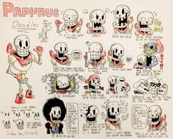 Papyrus Doodles by Josh-S26
