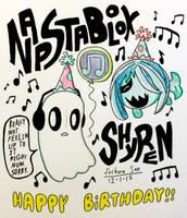 Birthday Month #2: NAPSTABLOOK AND SHYREN by Josh-S26