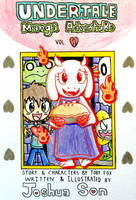 Undertale Manga Adventure Vol.1 Cover Page by Josh-S26