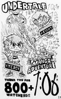 Undertale Manga Adventure Vol.1 (Pg.19) by Josh-S26