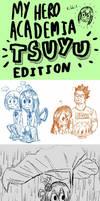 Boku no Hero Academia - Sketchdump (Tsuyu Edition) by Josh-S26