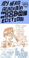 Boku no Hero Academia - Sketchdump (Iida Edition) by Josh-S26