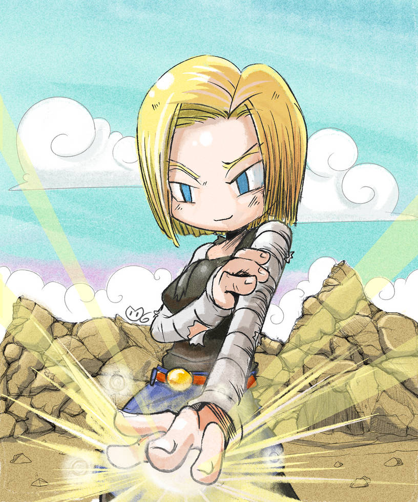 Android 18 by Taise-Z