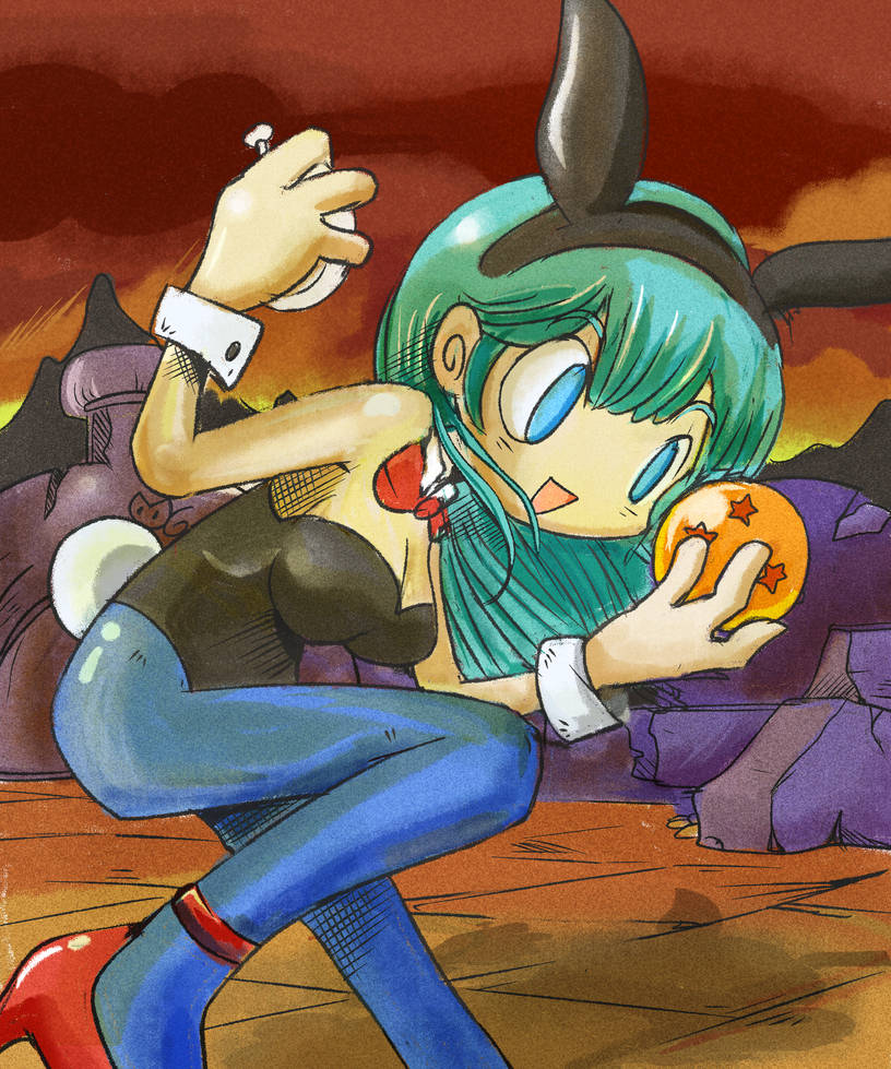 Bulma Dragon Ball by Taise-Z