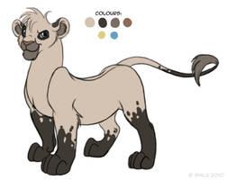 Fursona request for Kaleena01 by LittleHybridShila