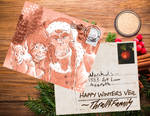 Warchicks Postcard Secret Santa by nighte-studios