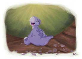 Aaska-dessin-illustration-enfant-little-foot-petit by AASKA-CREA
