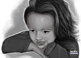 Portrait enfant by AASKA-CREA