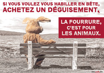 Cause animale - affiche de sensibilisation by AASKA-CREA