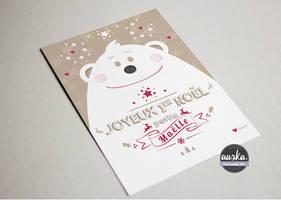 Petit mot pour Noel by AASKA-CREA