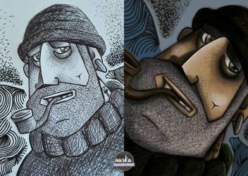 illustration - marin  by AASKA-CREA