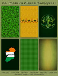 St. Patrick's Wallpaper Android Pack 1 by melissapugs