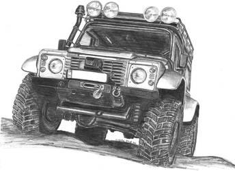 Land Rover by mehmetmumtaz