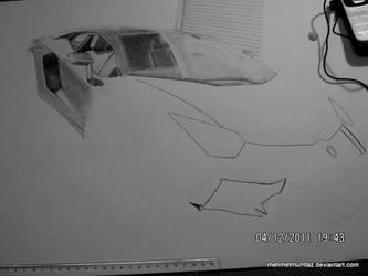 Lamborghini Aventador WIP by mehmetmumtaz