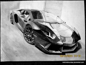 Lamborghini Aventador by mehmetmumtaz
