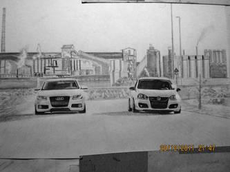 Audi vs Vw by mehmetmumtaz