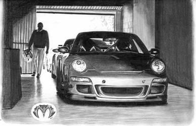 Porsche 911 by mehmetmumtaz