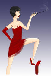 Flapper by Caralista