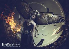 R A V E N  I by LINGDUMSTUDOG