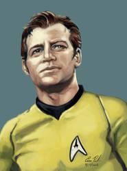 Captain Kirk by battlereaper