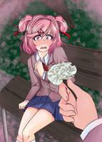Doki Doki Flower - Natsuki by SushiTurnip