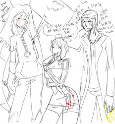 Hateship Threesome by Chibi-Works