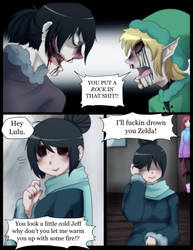 i eat pasta for breakfast pg. 213 by Chibi-Works