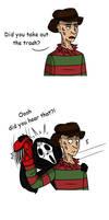 Freddy vs Jason 2 be like by Bakhtak