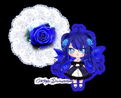 Blue Rose Commission by OKtiger