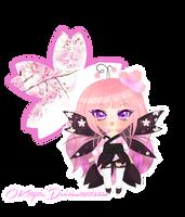 Commission: Sakura Flower Fairy by OKtiger
