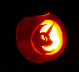 Nightmare Pumpkin by quodfuero