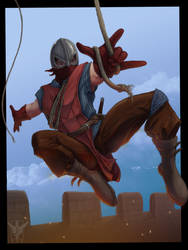 Medieval Spidy by TheSqu
