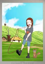 Louise - Inspiration : Hayao Miyazaki by TheSqu